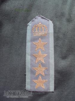 Szwecja-polowe oznaki stopnia: pułkownik 1 stopnia