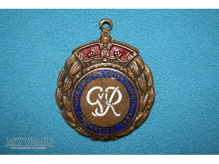 King George VI Queen Elizabeth Coronation 1937