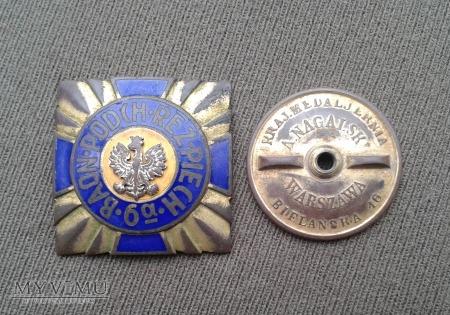 Odznaka 6-a baonu podchorązych rezerwy piechoty