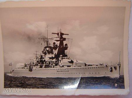 Duże zdjęcie Pancernik Admiral Scheer