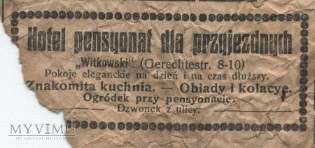 "Duże zdjęcie 09 ""Gazeta Toruńska - Codzienna"" lipiec 1914"