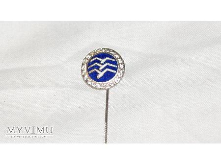 Odznak pilota szbowcowego srebrna miniatura