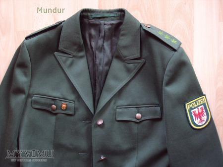 Polizei Brandenburg - mundur służbowy kobiecy