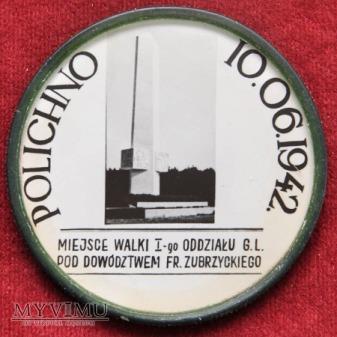 Polichno - pomnik Czynu Zbrojnego GL i AL