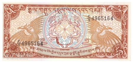 Bhutan - 5 ngultrum (1990)