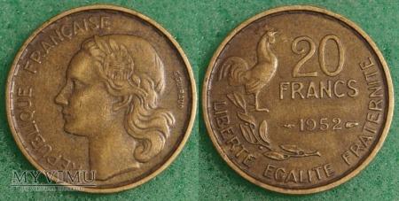 Francja, 10 Francs 1952