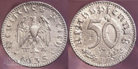 Niemcy, 1935, 50 REICHSPFENNIG