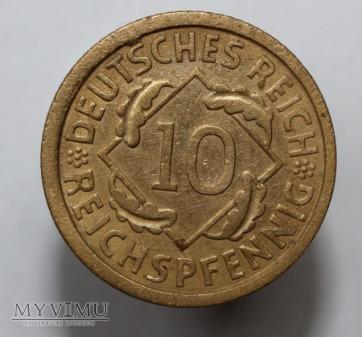 10 pfennigów 1925