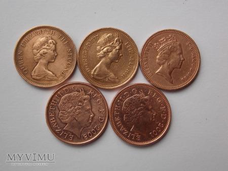 1 penny-WIELKA BRYTANIA