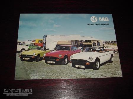 Prospekt MG MIDGET/MGB/MGB GT
