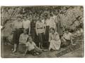 Ojców - grupa dziewcząt - 1932 rok