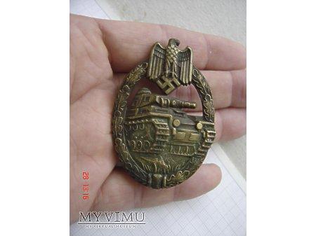 Panzer Kampf Abzeichen in Bronze