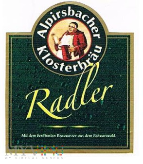alpirsbacher klosterbräu radler