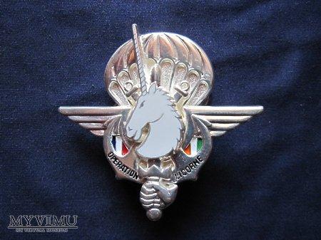 Odznaka 2REP-Licorne/srebro