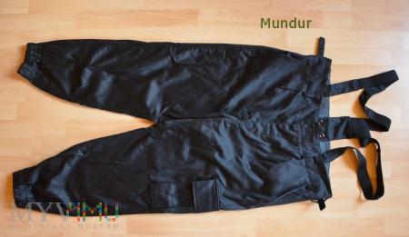 Spodnie czołgisty czarne WZ 601/MON ChemaN