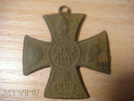 Medalik / krzyż Pruski pamiątkowy ,1889