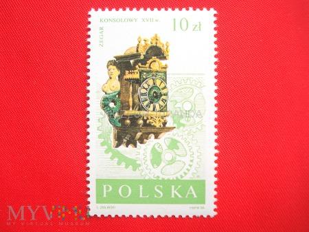 Zegar konsolowy XVII w.