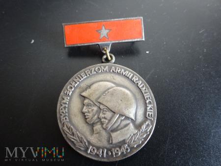 Duże zdjęcie Byłym Żołnierzom Armii Radzieckiej