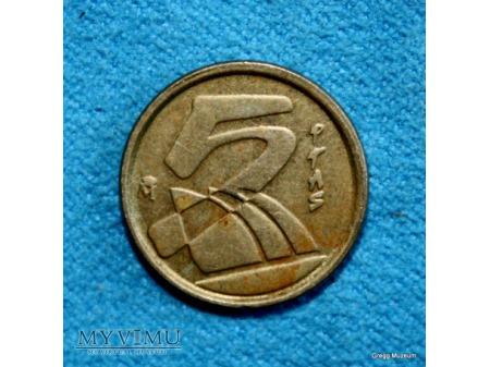 5 Ptas-Hiszpania 1992
