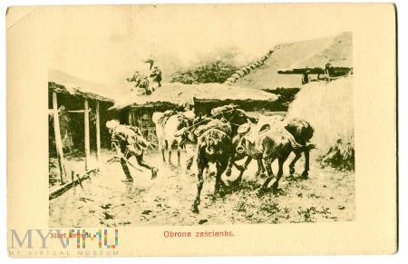 Duże zdjęcie Obrona zaścianka, Józef Brandt, c. 1910