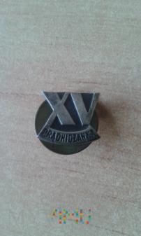 odznaka 15 lat Prądniczanki