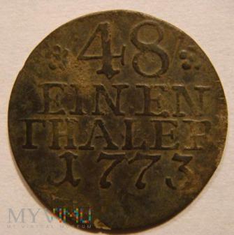 48 EINEN THALER 1773