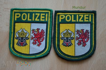 Emblemat Polizei Mecklemburg-Vorpommern