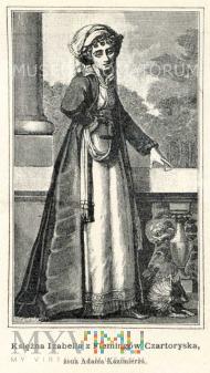 Czartoryska Izabela - żona Adama