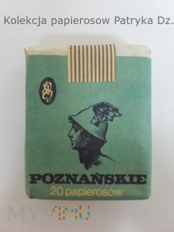 Duże zdjęcie Papierosy Poznańskie 20 szt. 1986 r.