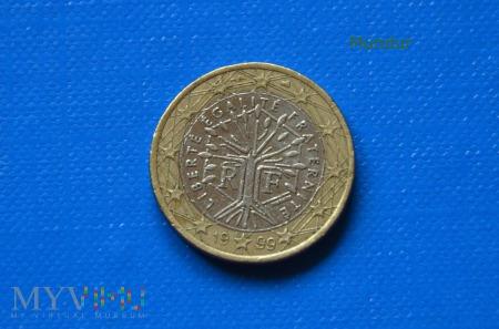 Moneta: 1 euro FRANCJA 1999