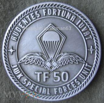 Coin TF-50 Jednostki Wojskowej KOMANDOSÓW.