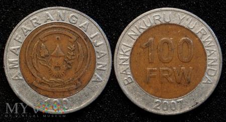 Rwanda, 100 FRW 2007