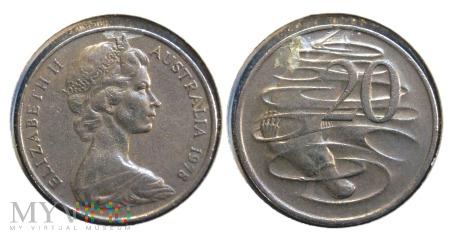 Australia, 20 centów 1978