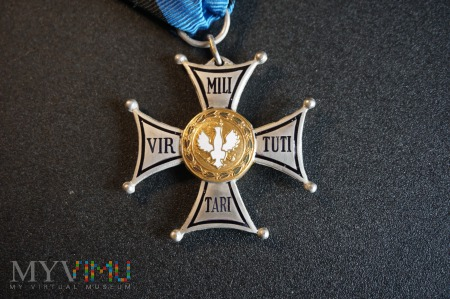 Virtuti Militari V klasy - II RP wyk. M. Delande
