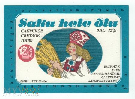 Estonia, Saku hele olu