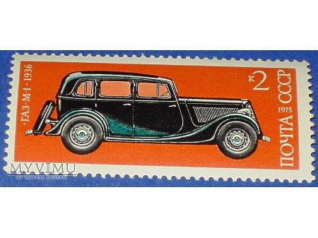 Duże zdjęcie GAZ M-1 1936 rok