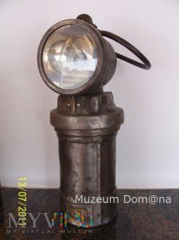 LAMPA AKUMULATOROWA (reflektorowa)-TYP 624 - 1958r