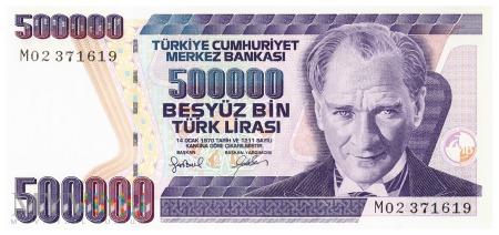 Turcja - 500 000 lir (2006)
