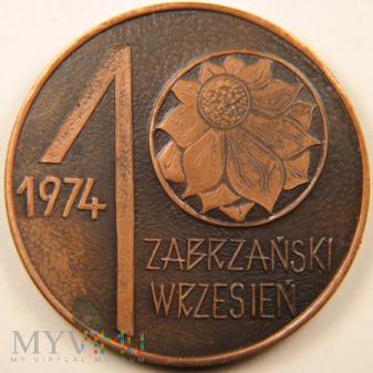 1974 - Okręgowa Wystawa Filatelistyczna Zabrze