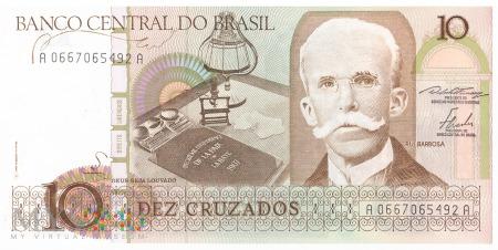 Brazylia - 10 cruzados (1986)