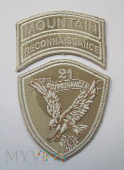 21. Kompania Rozpoznawcza, pustynna