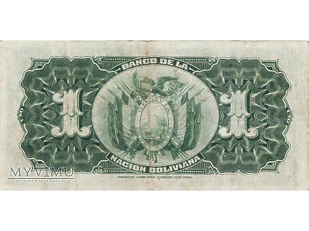 1 Boliviano - 1911 rok.