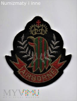 Duże zdjęcie oznaka wojskowa nieznana