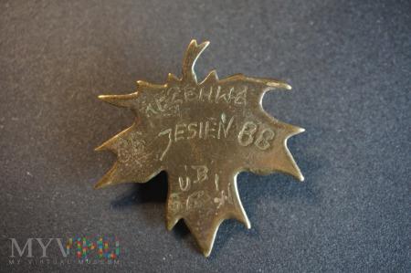 Pamiątkowa Odznaka Rezerwy - Gubin Jesień 86-88