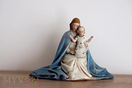 Duże zdjęcie Figurka Matki Boskiej z Dzieciątkiem