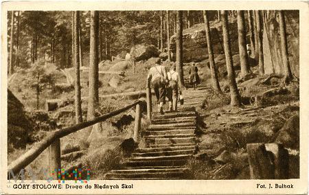Góry Stołowe - droga do Błędnych Skał