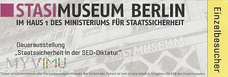 Muzeum STASI i Topografia Terroru- Berlin.