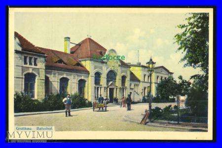GRODKÓW Grottkau Dworzec kolejowy