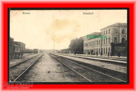 KIELCE Dworzec kolejowy