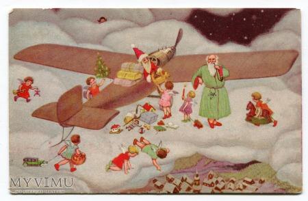 Święty Mikołaj Samolot Święty Piotr